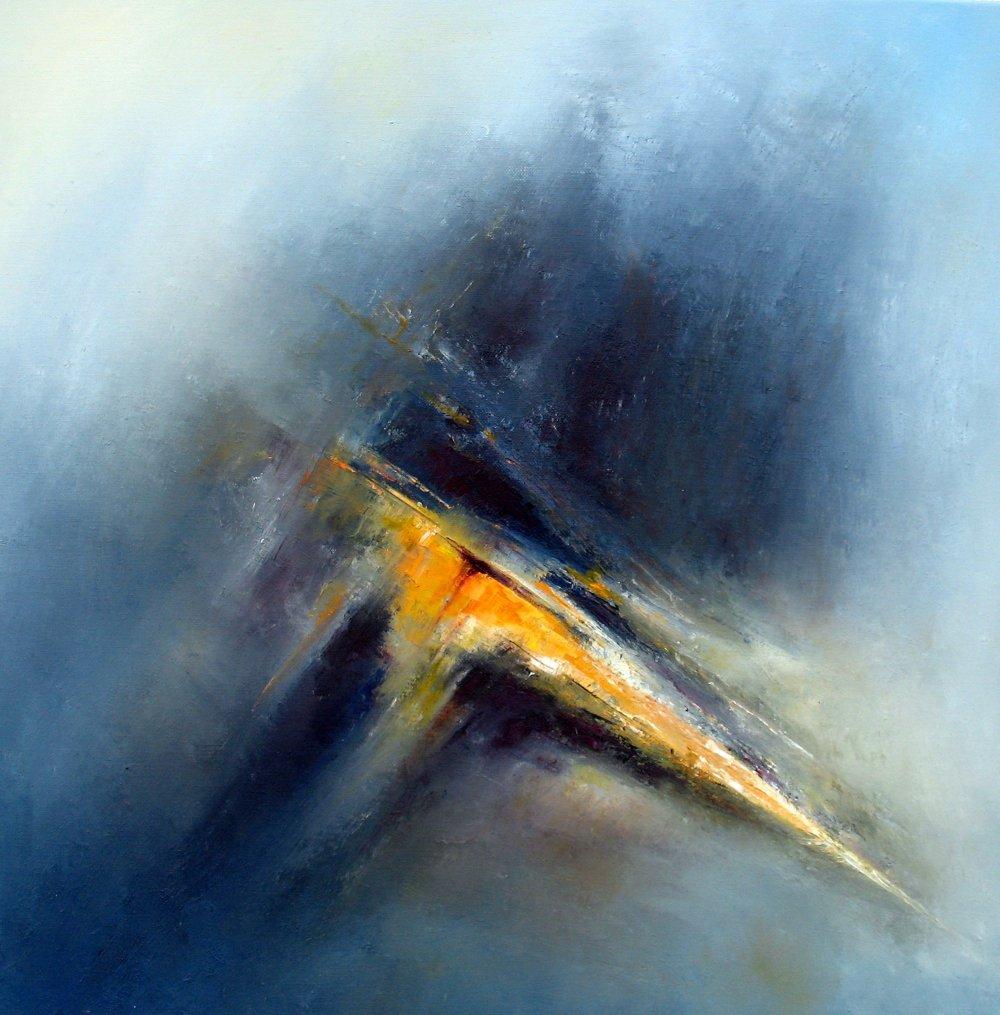 Maleri Kjell Idar Saure